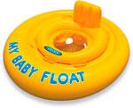Надувной круг и нарукавник  Intex  My Baby Float