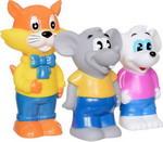 Игрушка для купания  Играем Вместе  Кот Леопольд и 2 мышонка