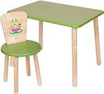 Стол и стул  РусЭкоМебель  Эко Зеленый