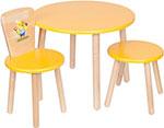 Стол и стул  РусЭкоМебель  Эко № 2 Желтый