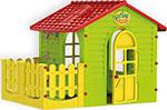 Детский игровой домик  Mochtoys  с пристройкой 165*120*121 см