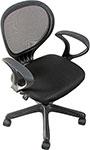 Офисное кресло  College  H-2408 F черное ткань