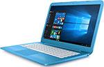 Ноутбук  HP  Stream 14-ax 000 ur (Y3V 10 EA) Aqua Blue