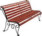 Мебель для дачи  Хоббика  Лотос 1,8 м рябина