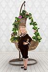 Праздничная одежда  ХоумАпплайнс  рост 116 шоколадный
