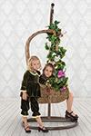 Праздничная одежда  ХоумАпплайнс  рост 122 зеленый