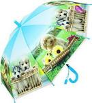 Зонт детский  НТМ  Верные друзья 48 см голубой