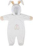 Верхняя одежда  Picollino  велюровый Кролик утепленный, СК3-КМ002 (в) молочный, 80-48(24)