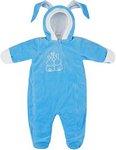 Верхняя одежда  Picollino  велюровый Кролик утепленный, СК3-КМ002 (в)  ярко голубой, 74-48(24)
