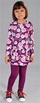 Повседневная одежда  Fleur de Vie  24-1724 рост 104 фиолетовый
