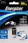 Флеш-накопитель  Energizer  64 GB Ultimate Dual USB-A/microUSB (USB 3.1) OTG