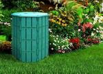 Прочая садовая принадлежность  МастерСад  800 л с крышкой зеленый