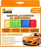 Бытовая химия и салфетка для уборки  Рыжий кот  CMFS-01/4