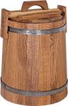 Емкость для консервации и заготовок  БонПос  дубовая 15л НЖ с гнетом