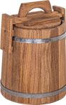 Емкость для консервации и заготовок  БонПос  дубовая 3л НЖ с гнетом