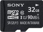 Карта памяти  Sony  MicroSD 32 ГБ 32 UY3A UHS-I U1 с адаптером