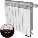 Водяной радиатор отопления  RIFAR  B 500 4 сек НП лев (BVL)