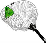 Аксессуар для рыбалки  Tsuribito  NET TRAP Fold c черной силиконовой сеткой, складной, длина 95см, диаметр 38см BKT0-38379501 67944