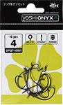 Оснастка  Yoshi Onyx  Offset Hook Long 4 (BN), BIG EYE (упак. 10шт.) 97454