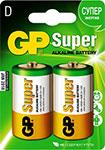 Батарейка, аккумулятор и зарядное устройство  GP  Super Alkaline 13 A LR 20 D (2шт)