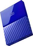 Внешний жесткий диск (HDD)  Western Digital  Original USB 3.0 1Tb WDBBEX 0010 BBL-EEUE My Passport 2.5`` синий