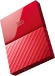 Внешний жесткий диск (HDD)  Western Digital  Original USB 3.0 2Tb WDBUAX 0020 BRD-EEUE My Passport 2.5`` красный