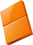 Внешний жесткий диск (HDD)  Western Digital  Original USB 3.0 1Tb WDBBEX 0010 BYL-EEUE My Passport 2.5`` желтый