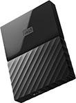 Внешний жесткий диск (HDD)  Western Digital  Original USB 3.0 1Tb WDBBEX 0010 BBK-EEUE My Passport 2.5`` черный