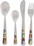 Посуда для детей  Tescoma  BAMBINI, машинки 4шт 668091