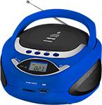 Магнитола  Telefunken  TF-CSRP 3494 B синий