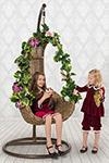 Праздничная одежда  ХоумАпплайнс  рост 116 вишня