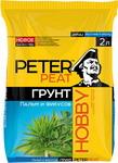 Удобрение и грунт  PETER PEAT  HOBBY Пальмы и фикусы 2л