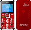 Мобильный телефон  Ginzzu  MB 501 красный