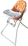 Стульчик для кормления  Sweet Baby  Simple Orange 388 133