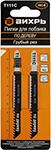 Оснастка для электроинструментов  Вихрь  Т111 C по дереву,грубый рез 100х75мм (2 шт)