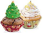 Приспособление для выпечки  Tescoma  DELICIA d6см, 60шт, рождественские мотивы 630616