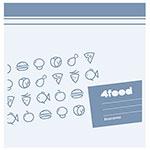 Емкость для хранения продуктов  Tescoma  4FOOD 20 x 20см, 20шт, 897024