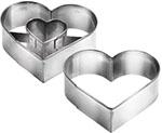 Приспособление для выпечки  Tescoma  сердце DELICIA 631190
