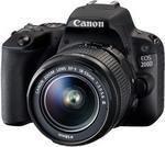 Фотоаппарат  Canon  EOS 200 D KIT EF 18-55 DC III черный
