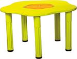 Стол и стул  King Kids  ``Сэнди``, с системой хранения мелочей, Желтый KK_KM 1200_Y
