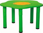Стол и стул  King Kids  ``Сэнди``, с системой хранения мелочей, цвет Зеленый KK_KM 1200_G