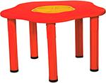 Стол и стул  King Kids  ``Сэнди``, с системой хранения мелочей, цвет Красный KK_KM 1200_R