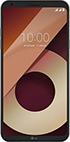 Мобильный телефон  LG  Q6a M 700 черно-золотистый