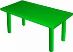 Стол и стул  King Kids  ``Королевский``, пластиковый, цвет Зеленый KK_KT 1100-P_G