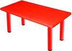 Стол и стул  King Kids  ``Королевский``, пластиковый, цвет Красный KK_KT 1100-P_R