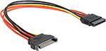 Кабель и переходник  Vention  SATA 15 pin M/SATA 15 pin F - 0.3м