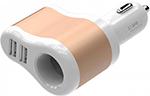Зарядное устройствo для мобильных телефонов, планшетов, ноутбуков  Vention  3.1A-2xUSB AF разветвитель
