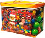 Аксессуар для спорта и отдыха  King Kids  500 штук, диаметр 90 мм, в сумке KK_BL 1100-90-500