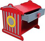 Стол и стул  KidKraft  ``Пожарная станция`` 76024_KE