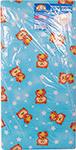 Детский матрас  Карапуз  Соня люкс, кокос, холлофайбер, бязь, 119*59*8 ХКБ93